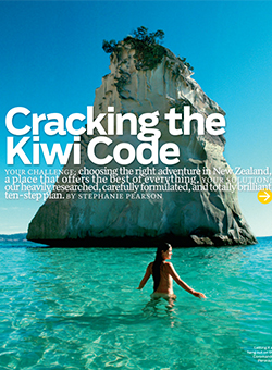 Cracking The Kiwi Code