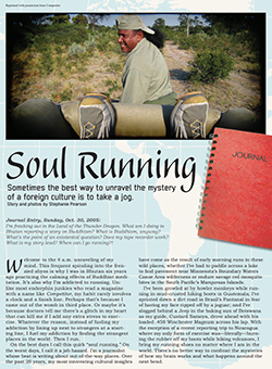 Soul Running Article Cover