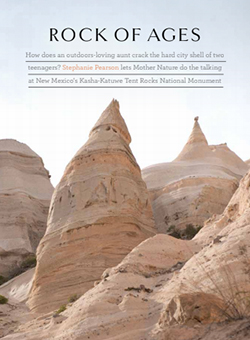 Rock of Ages article cover - New Mexico Tent Rocks National Monument