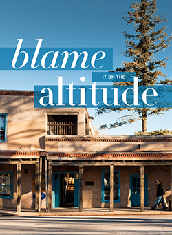 Blame It On The Altitude article cover