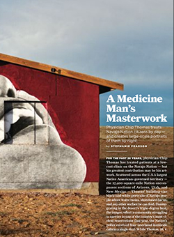 A Medicine Man's Masterwork article cover