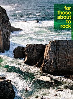 Cliffs in the ocean by an island