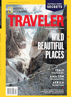 Italy, National Geographic Traveler, mountain biking, hiking, sailing, via ferrata